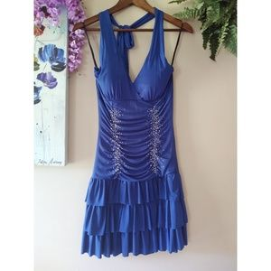 Star Vixen Blue Dress Size Small